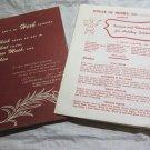 House of Herbs~Salisbury CT~recipes~vintage kitchen ephemera~FREE US SHIP~1