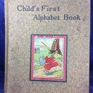 Child's First Alphabet Book Charles E Graham & Co Newark New York Antique