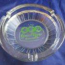 vintage Green Ridge Restaurant Nashua NH glass ashtray~New Hampshire souvenir