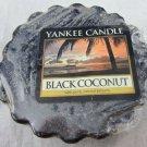 2 Yankee Candle Black Coconut Tarts wax melts  #1254008