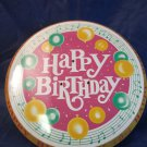 vintage Happy Birthday musical revolving Cake Plate Made In Japan 1960s-1970s