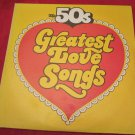 The 50s Golden Hits to Remember~The 50's Greatest Love Songs LP/vinyl/record