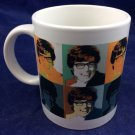 Austin Powers Andy Warhol print 10 Oz mug vintage 1999