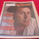 vintage Martin Sheen cover Rolling Stone newspaper/magazine November 1 1979