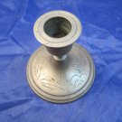 vintage brass candlestick made in China Chinese metalwork candle stick holder