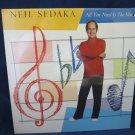 Neil Sedaka ALL YOU NEED IS THE MUSIC  vintage record/LP/vinyl/album~SEALED