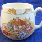 Bunnykins Doll's House 1 Handle Don Mug by Royal Doulton Dollhouse 1968-1975