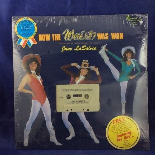 How Is The Waist Was Won Country Music Aerobic Cassette Tape June Lasalvia NEW