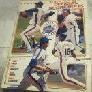 1985 New York Mets vs. LA  Dodgers Official Score Book & Program~1984 All Stars