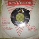 """The Voices of Walter Schumann 7"""" 45 RPM record Band of Angels Soft Sands"""