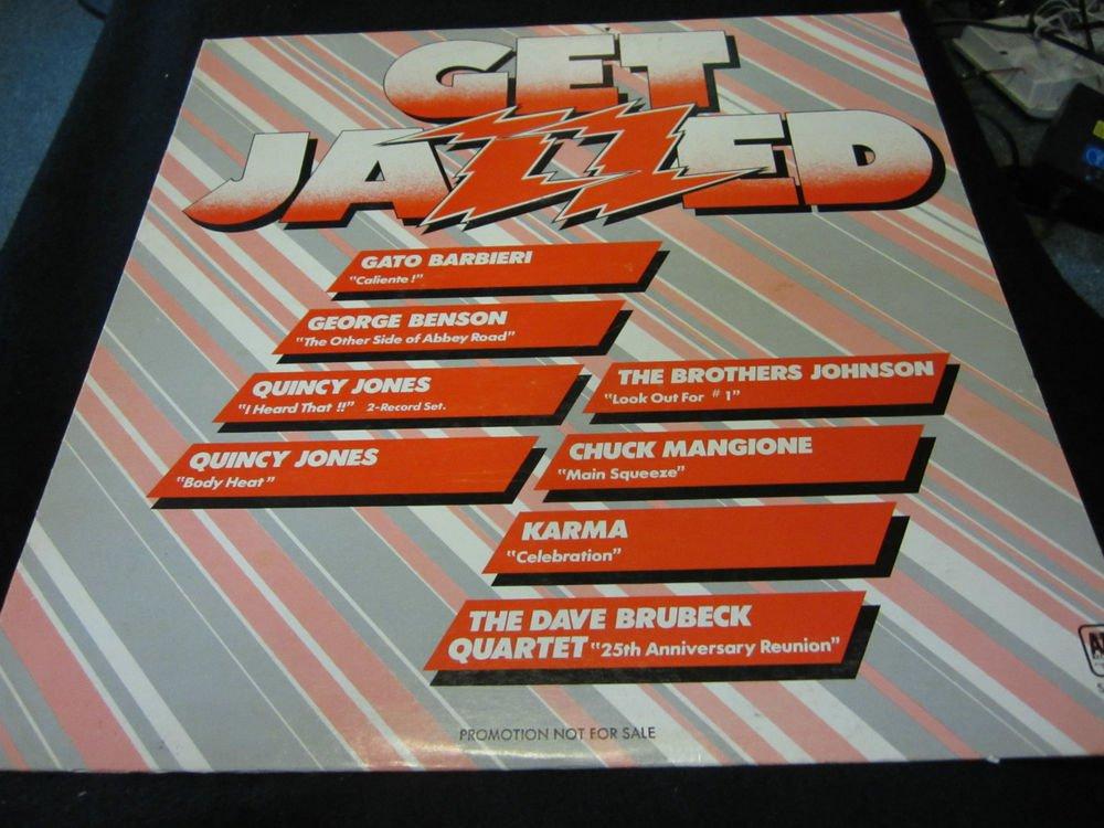 Get Jazzed vintage vinyl/record/LP~promo copy~free US ship