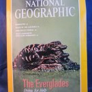 National Geographic magazine Vol 185 No 4 April 1994 The Everglades Lusitania++