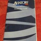 1998 TWA Aviators Membership Guide brochure~vintage airline collectible
