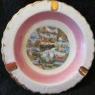 vintage California travel souvenir ashtray~CA ash tray from mid-century