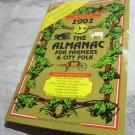 2002 Almanac for Farmers and City Folk~Bank promo item