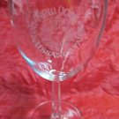 New York Renaissance Faire wine glass goblet NY festival fair souvenir