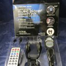 music player accessory pack for car wireless FM transmitter & remote & more