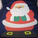 vintage Christmas Santa Claus wall decoration/poster