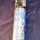 Justin Bieber Gift Wrap~70 sq ft blue Christmas/Happy Holidays wrapping paper 1