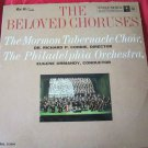 The Beloved Choruses record/vinyl~Mormon Tabernacle Choir~Columbia 6 eye