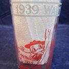 vintage 1939 Walt Disney All Star Parade Glass Donald Duck Huey Dewey Louie