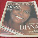 vintage Diana Ross cover Rolling Stone newspaper magazine August 11 1977