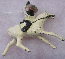 B2b Barclay Toy Soldier~Barclays~Cowboy on white Horse~B2/B 2 variation
