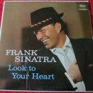 Frank Sinatra Look to Your Heart vintage LP vinyl record album Capitol Records
