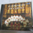 A Ceremony of Carols cd Britten & Christmas carols New College Oxford sealed