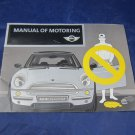 Manual of Motoring by Mini USA Division of BMW 2003