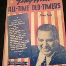 Tiny Hill's All-time Old-timers Song Folio~vintage music book~1943~FREE US SHIP