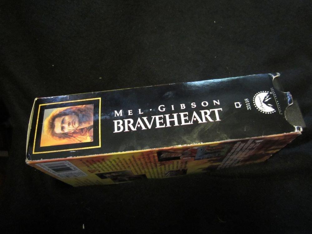 Braveheart (VHS, 1996, 2-Tape Set) video tapes~Mel Gibson movie/film