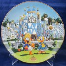 Disneyland 40th Anniversary Bradford Exchange Plate It's a Small World