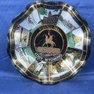 Buffalo Bill Cody Wyoming Vintage Souvenir Plate Dish