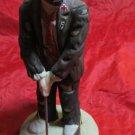 vintage Emmett Kelly Jr collectible figurine by Flambro 1984 clown golf golfing