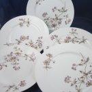 "CFH GDM Haviland French Limoges purple passion flower 7-7/8"" dish plates"