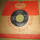 """Sarah Vaughn PLEASE MR. BROWN/BAND OF ANGELS~7"""" record~Mercury Records"""
