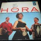 Oranim Zabar Troupe~Hora: Songs and Dances of Israel vintage vinyl/record/LP