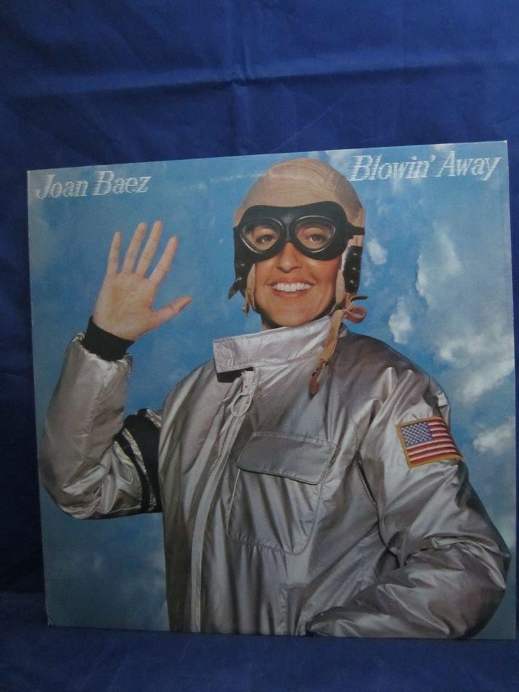Joan Baez Blowin' Away Vintage Record Vinyl LP Album Promo/Demo copy