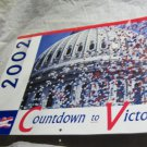 2002 DNC Countdown to Victory Calendar~Democrats & Democratic memorabilia