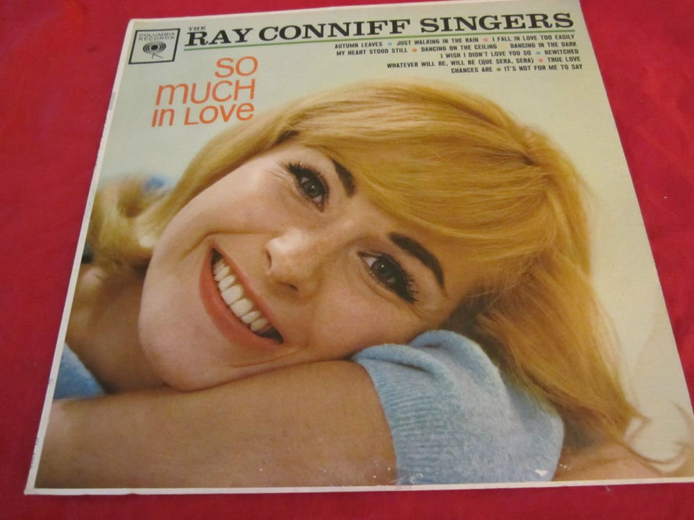 So Much in Love~Ray Conniff & The Ray Conniff Singers~vinyl record LP~freeUSship