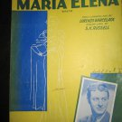 Maria Elena Waltz sheet music featured by Johnny Long~FREE US SHIPPING