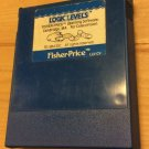 Fisher Price Logic Levels Colecovision vintage video game cartridge