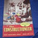 1948 The Constructioneer Toy Catalogue Construction Urbana Manufaturing Catalog
