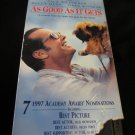 As Good as It Gets (VHS, 1998, Closed Caption) video tape~FREE US SHIPPING