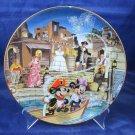 Disneyland 40th Anniversary Bradford Exchange Plate Pirates of the Caribbean