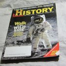 July/August 2009 History Channel Magazine~the First Moon Walk on the cover