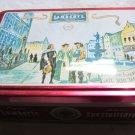 2006 Lambertz Cookie Tin~hinged metal box