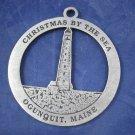 2003 Ogunquit Maine Boon Island Light ornament Christmas By the Sea lighthouse