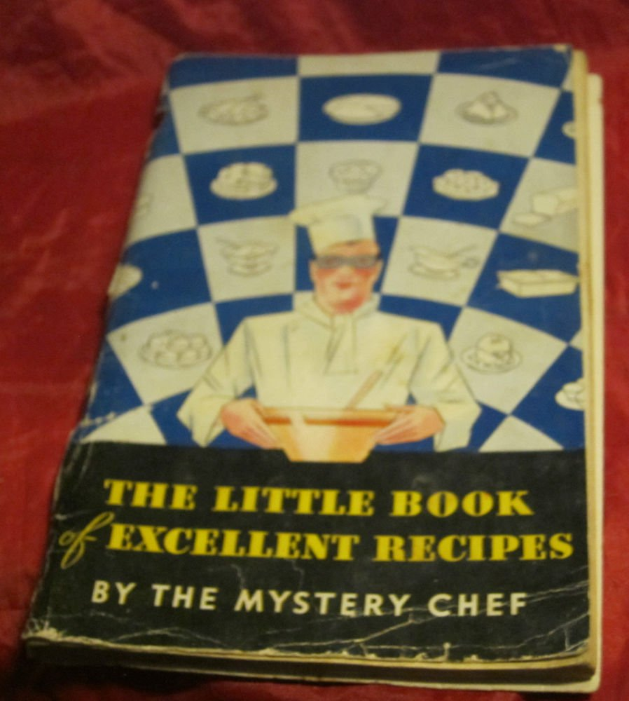 Little Book of Excellent Recipes by Mystery Chef~Davis Baking Powder cookbook